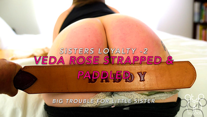 Veda Rose Strapped and Paddled Bare - Friends Loyalty 2